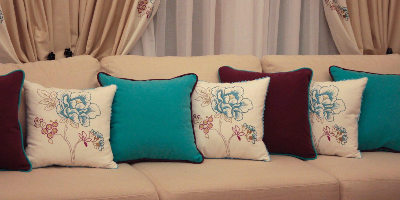 Подушки на диван своими руками с фото